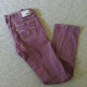 Purple Levi's Jeans, size 27